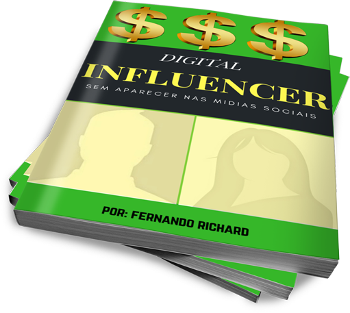 Seja um digital influencer semaparecer!!